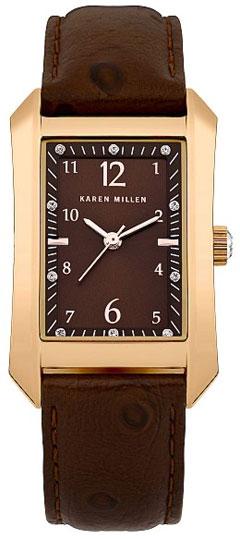Karen Millen Женские английские наручные часы Karen Millen KM104TG