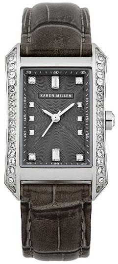 Karen Millen Женские английские наручные часы Karen Millen KM111B