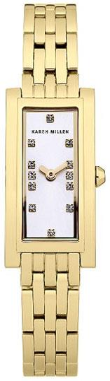 Karen Millen Женские английские наручные часы Karen Millen KM120GM