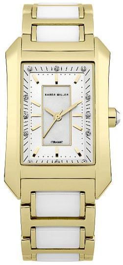Karen Millen Женские английские наручные часы Karen Millen KM119GM