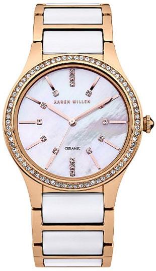 Karen Millen Женские английские наручные часы Karen Millen KM122RGM