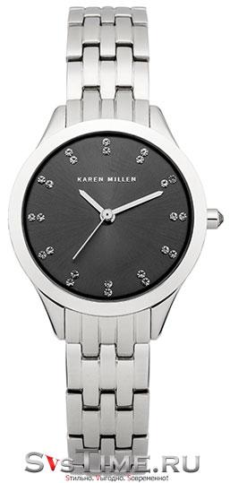 Karen Millen Женские английские наручные часы Karen Millen KM127SM