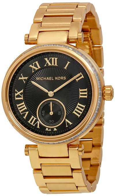 истончающий прекрасный оригинальные наручные часы michael kors основного