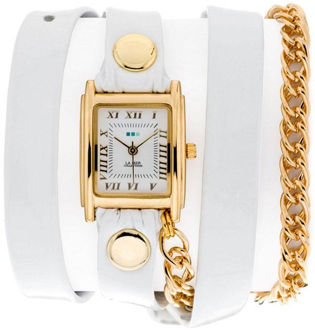 La Mer Collections Женские наручные часы La Mer Collections LMSCW1007WHT