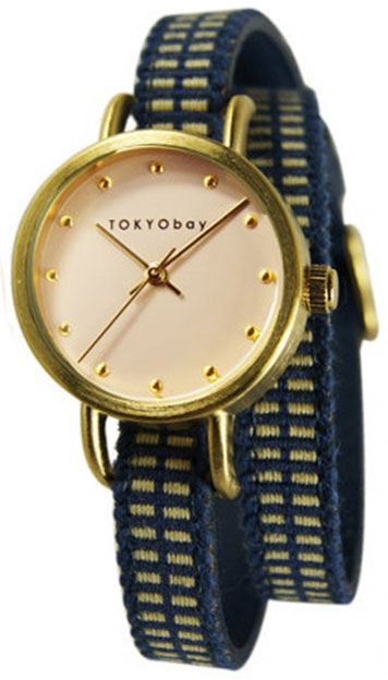 Tokyobay Tokyobay T233-BL tokyobay часы tokyobay t233 gr коллекция obi