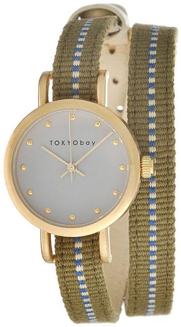 Tokyobay Tokyobay T233-GR tokyobay часы tokyobay t233 gr коллекция obi