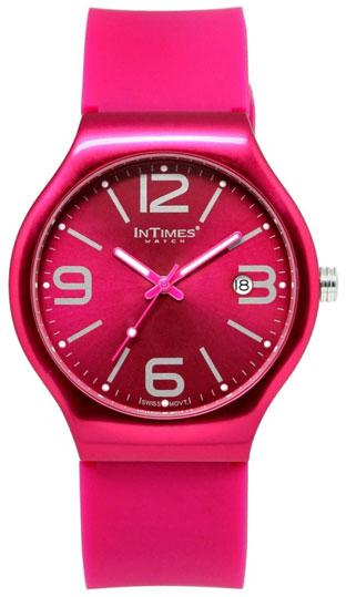 InTimes Унисекс наручные часы InTimes IT-088 Fuchsia