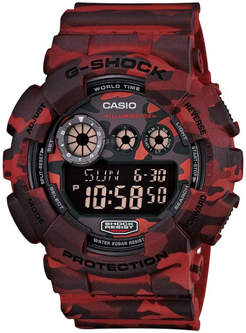 Casio Casio GD-120CM-4D наручные часы casio gd 120cm 5e