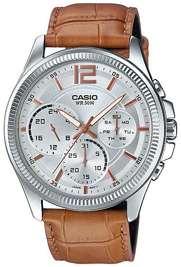 Casio Casio MTP-E305L-7A2 часы casio mtp 1374d 5a