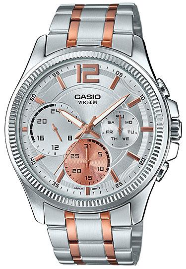 Casio Casio MTP-E305RG-7A часы casio mtp e108d 7a