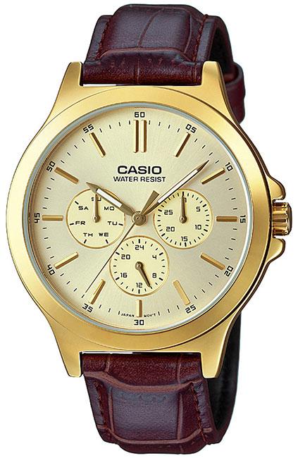 Casio Casio MTP-V300GL-9A casio часы casio mtp 1381l 9a коллекция analog
