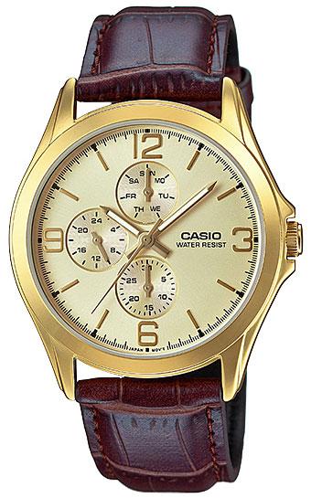 Casio Casio MTP-V301GL-9A casio часы casio mtp 1381l 9a коллекция analog