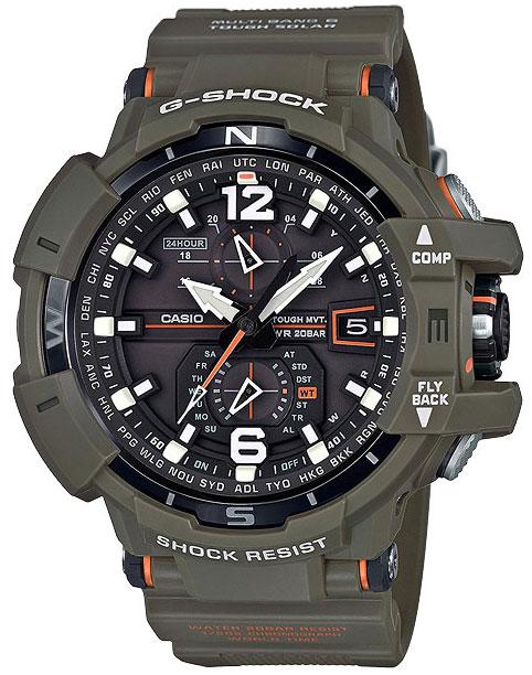Casio Casio GW-A1100KH-3A часы casio gw m5610 1e