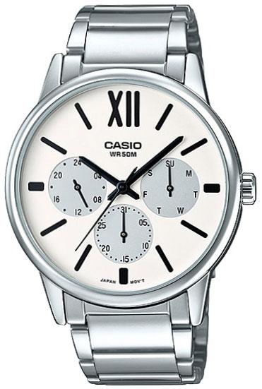 Casio Casio MTP-E312D-7B часы casio mtp 1377l 5a