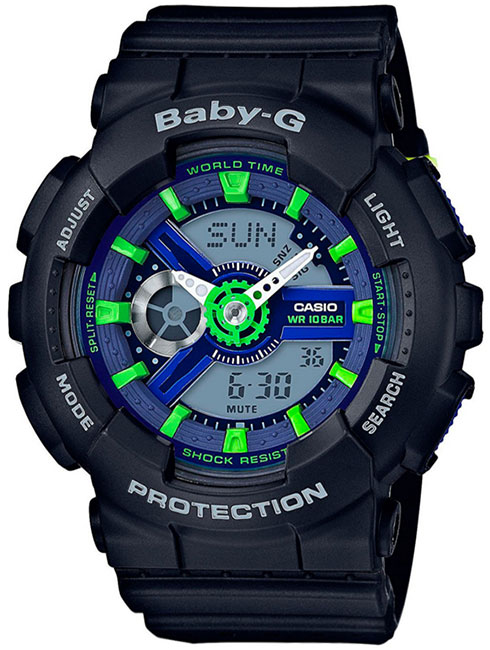Casio Casio BA-110PP-1A женские часы casio ba 110tx 1a
