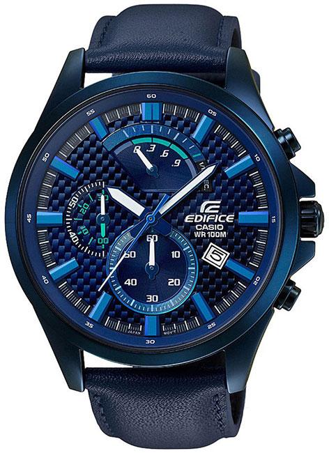 Casio Casio EFV-530BL-2A мужские часы casio efv 520l 2a