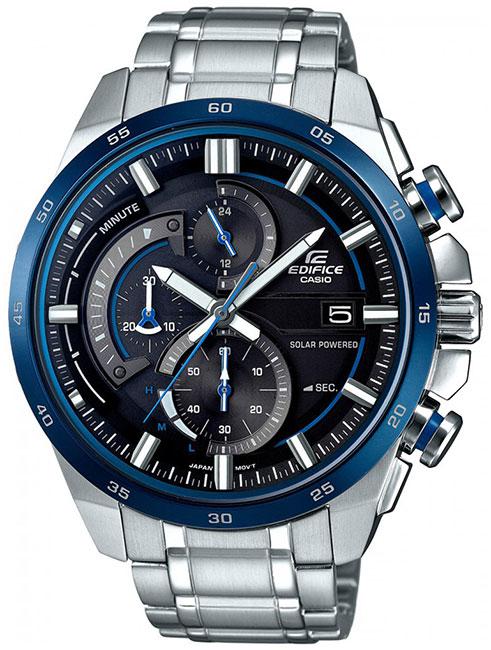 Casio Casio EQS-600D-1A2 мужские часы casio eqs a500db 1a