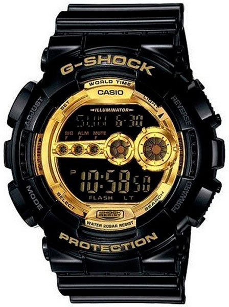 Casio Casio GD-100GB-1D наручные часы casio gd 120cm 5e