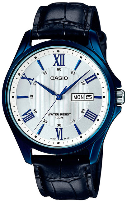 Casio Casio MTP-1384BUL-7A часы casio mtp e108d 7a