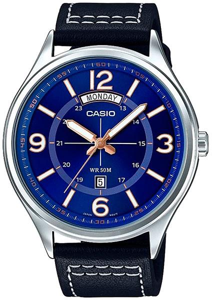 Casio Casio MTP-E129L-2B1 часы casio mtp 1374d 5a