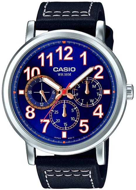 Casio Casio MTP-E309L-2B1 часы casio mtp 1374d 5a