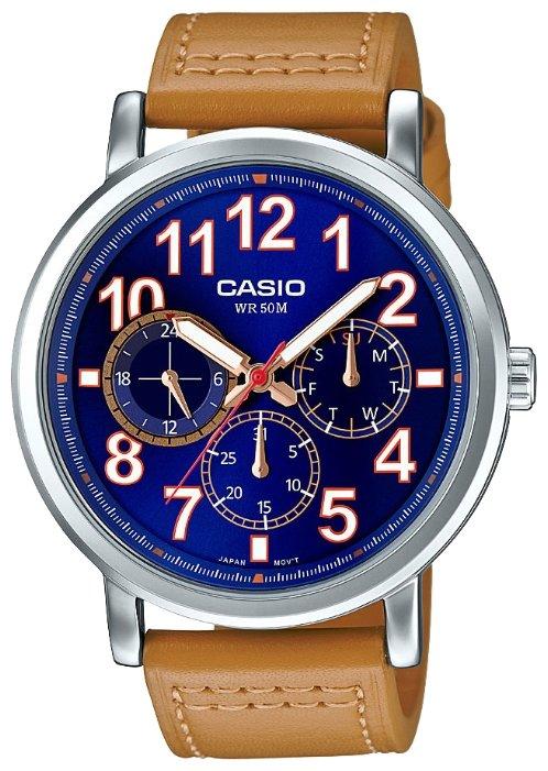 Casio Casio MTP-E309L-2B2 часы casio mtp 1374d 5a
