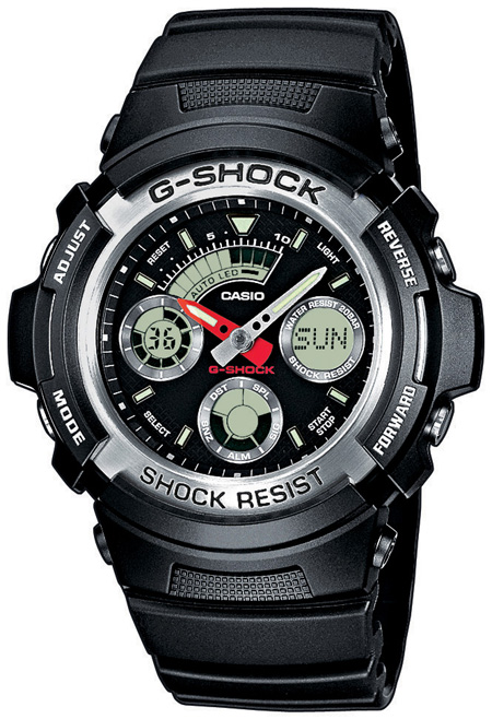 Casio Casio AW-590-1A casio g shock g classic aw 590 1a