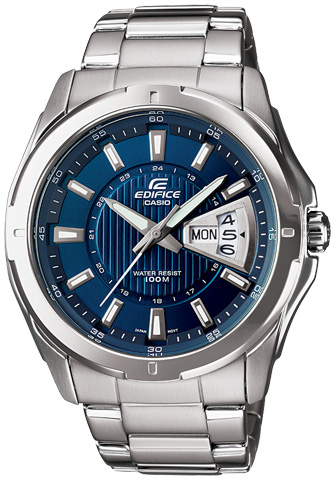 Casio Casio EF-129D-2A мужские часы casio ef 125d 2a