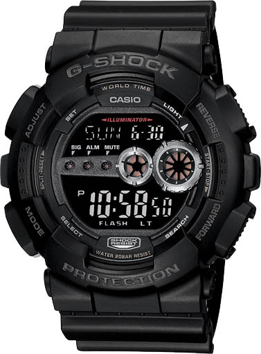Casio Casio GD-100-1B наручные часы casio gd 120cm 5e