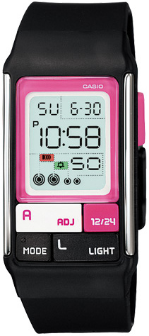 Casio Casio LDF-52-1A женские часы casio ldf 52 7a