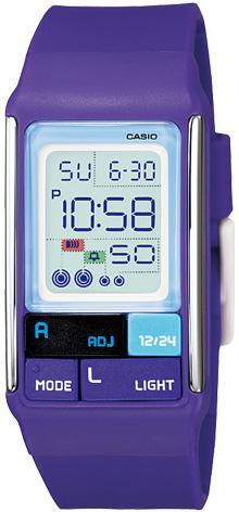 Casio Casio LDF-52-6A женские часы casio ldf 52 7a