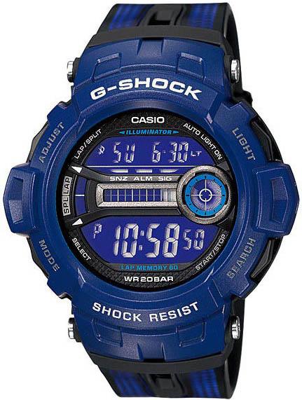 Casio Casio GD-200-2E наручные часы casio gd 120cm 5e