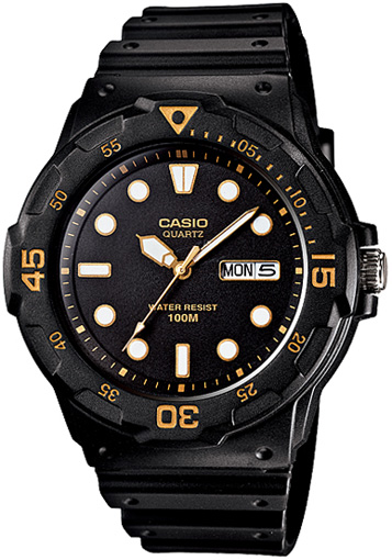 Casio Casio MRW-200H-1E кварцевые часы casio collection mrw 200h 4b black
