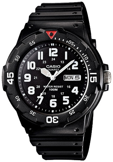 Casio Casio MRW-200H-1B кварцевые часы casio collection mrw 200h 4b black