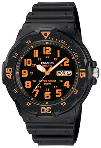 Casio Casio MRW-200H-4B кварцевые часы casio collection mrw 200h 4b black