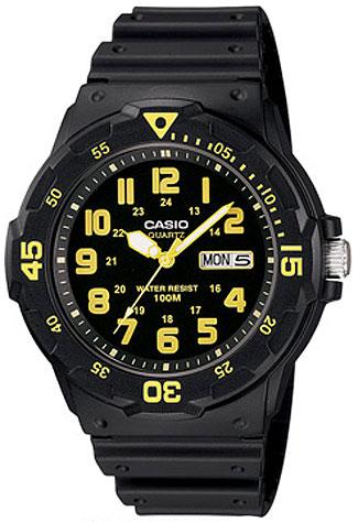 Casio Casio MRW-200H-9B мужские часы casio mrw 200h 7e