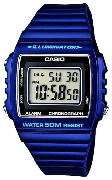 Casio Casio W-215H-2A мужские часы casio w 215h 6a