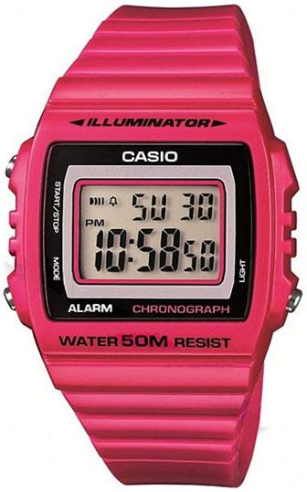 Casio Casio W-215H-4A мужские часы casio w 215h 6a
