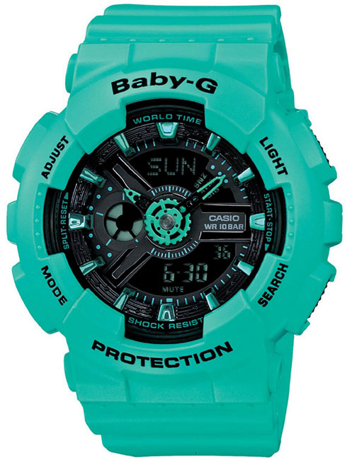 Casio Casio BA-111-3A женские часы casio ba 110tx 1a