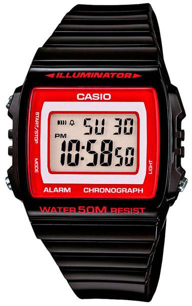 Casio Casio W-215H-1A2 мужские часы casio w 215h 6a