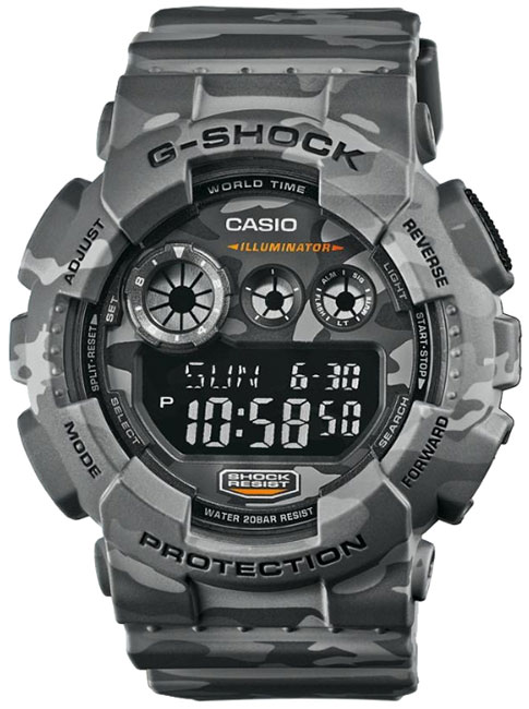 Casio Casio GD-120CM-8E наручные часы casio gd 120cm 5e