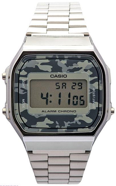 Casio Casio A-168WEC-1E мужские часы casio gd x6900mc 1e