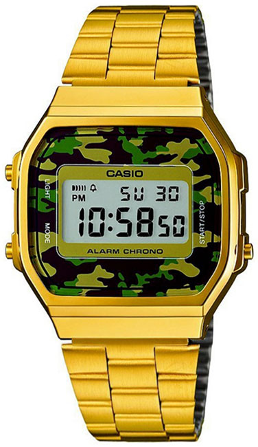 Casio Casio A-168WEGC-3E casio gd 100ms 3e