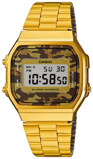 Casio Casio A-168WEGC-5E наручные часы casio gd 120cm 5e