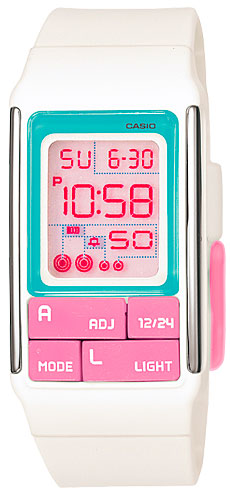 Casio Casio LDF-51-7C женские часы casio ldf 52 7a