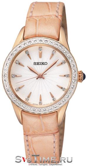 Seiko Женские: Женские японские наручные часы Seiko SRZ388P1 Женские японские наручные часы Seiko SRZ388P1