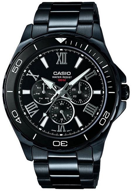 Casio Casio MTD-1075BK-1A1 casio mtd 1066b 1a1