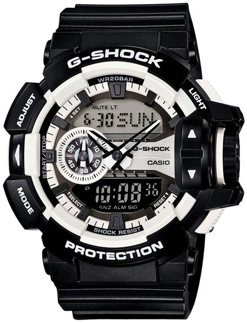 Casio Casio GA-400-1A casio g shock g classic ga 110mb 1a