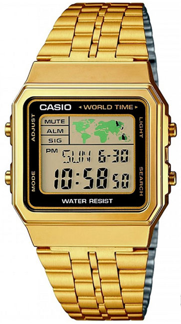 Casio Casio A-500WEGA-1E мужские часы casio gd x6900mc 1e
