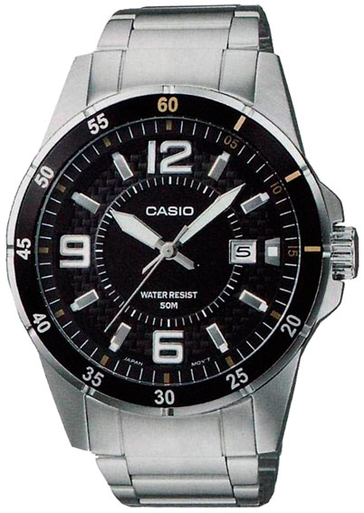 Casio Casio MTP-1291D-1A2 часы casio mtp 1377l 5a